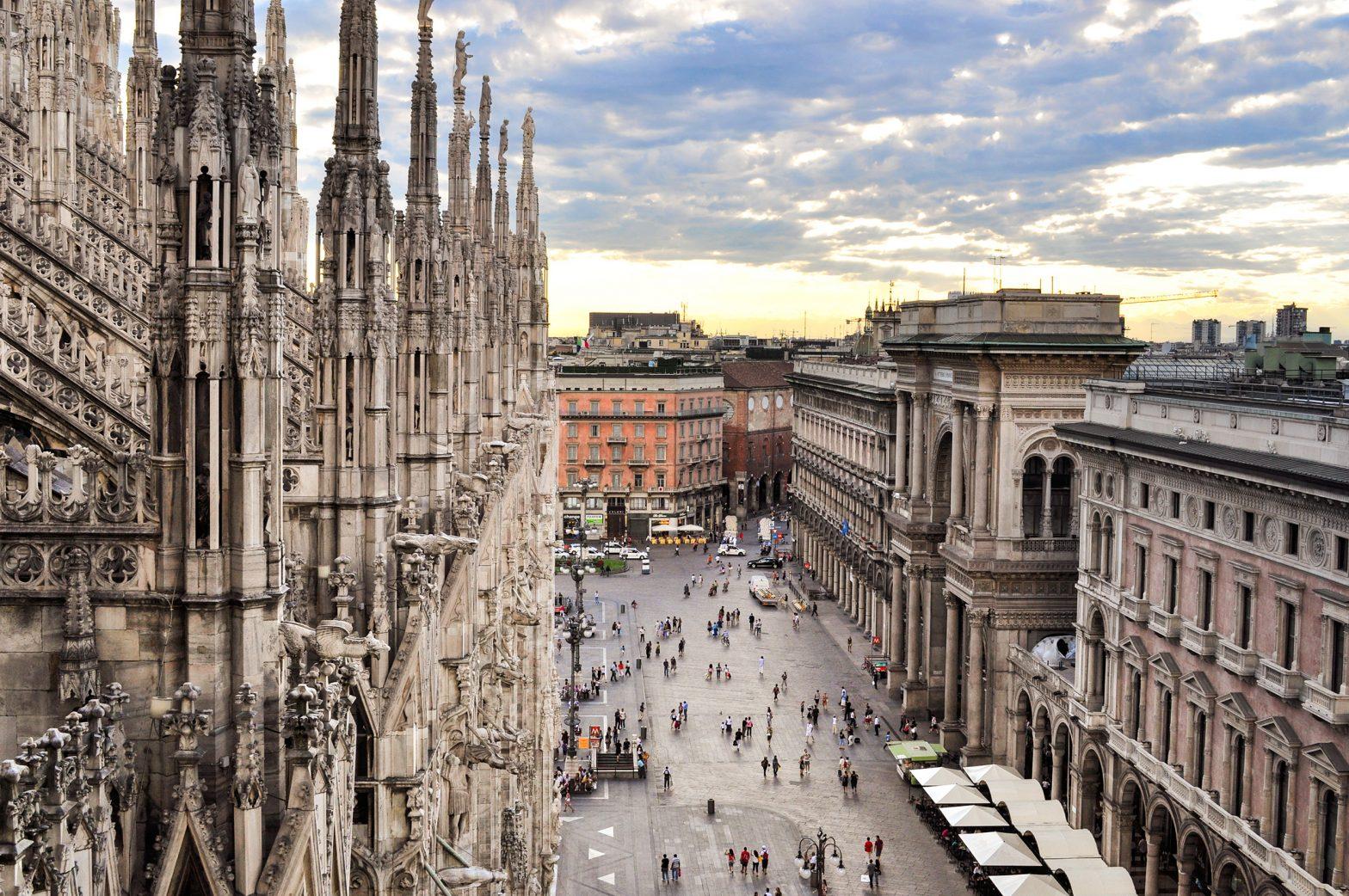 Merchants Square - piazza del Duomo Milano