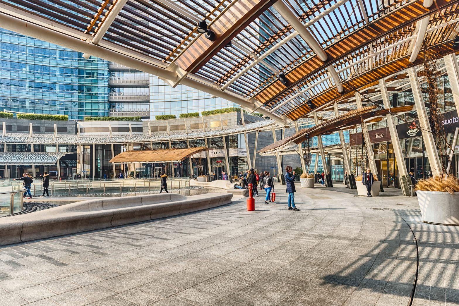Merchants Square - piazza Gae Aulenti Milano